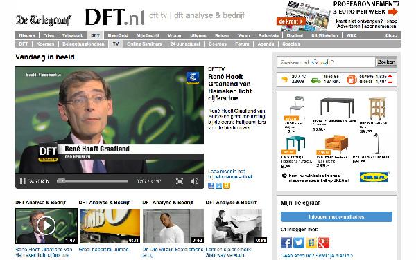 Publicatie online video